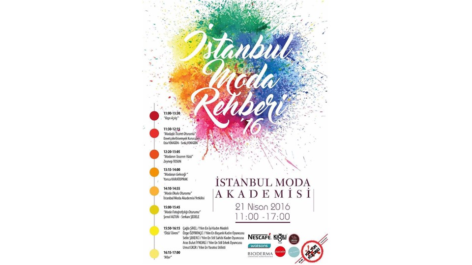 İstanbul Moda Rehberi'16