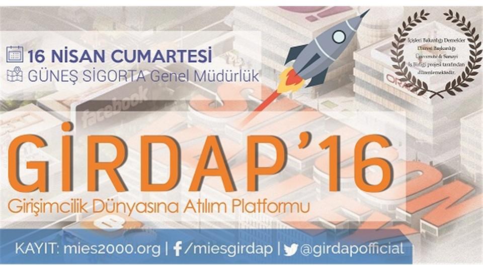GirDAP'16 - Girişimcilik Dünyasına Atılım Platformu