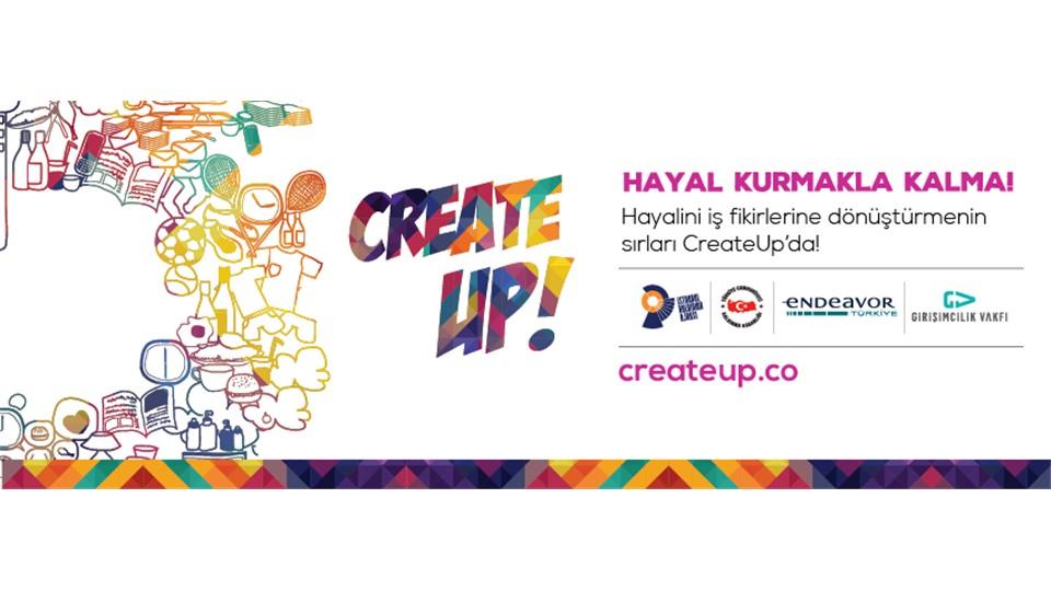 CreateUp Girişimcilik Programı Atölye No:1