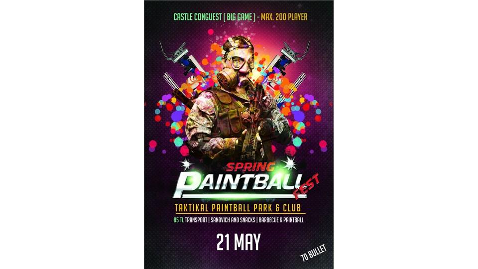 Spring Paintball Fest. & DJ Tarkan@360 Istanbul