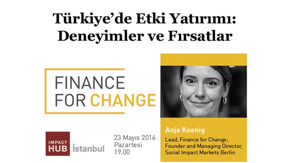 Türkiye'de Etki Yatırımı: Deneyimler ve Fırsatlar
