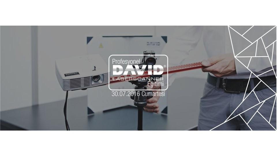 Profesyonel David 3B Tarayıcı Eğitimi