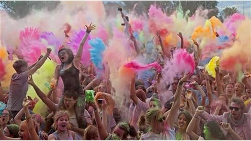 MERSİN DREAM OF COLOR FEST! HOLİ