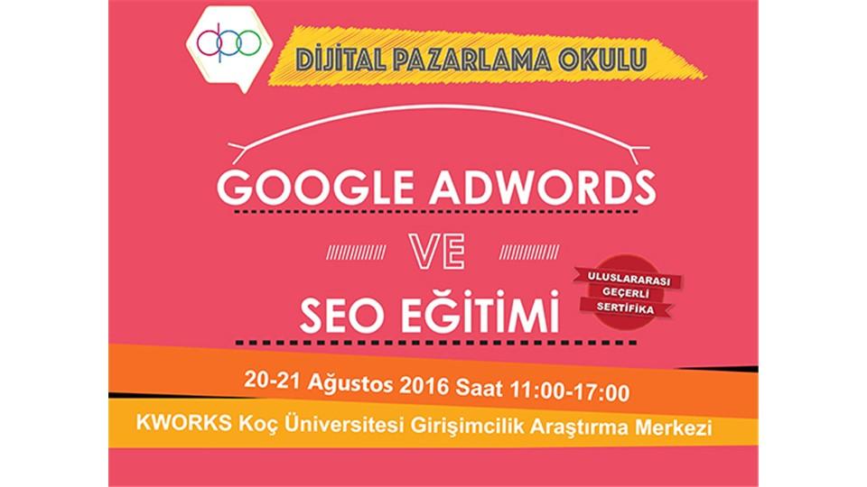 Google Adwords ve SEO Eğitimi