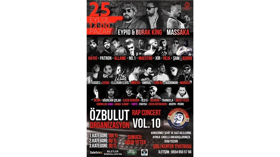 Özbulut Organizasyon Vol.10 (Dev Türkçe Rap Konseri)