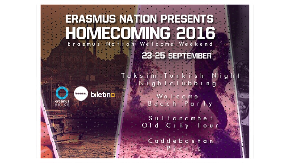 Erasmus Nation Homecoming 2016