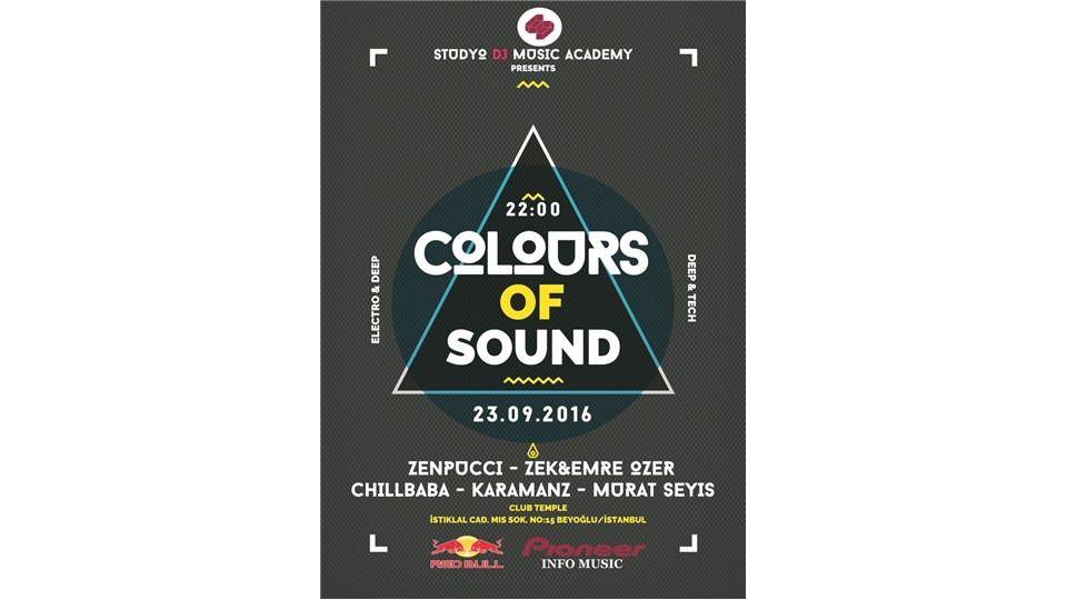 Colours of Sound House Night