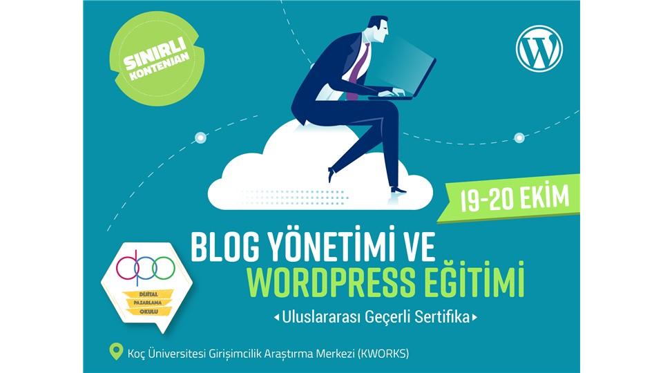 Blog Yönetimi ve WordPress Eğitimi