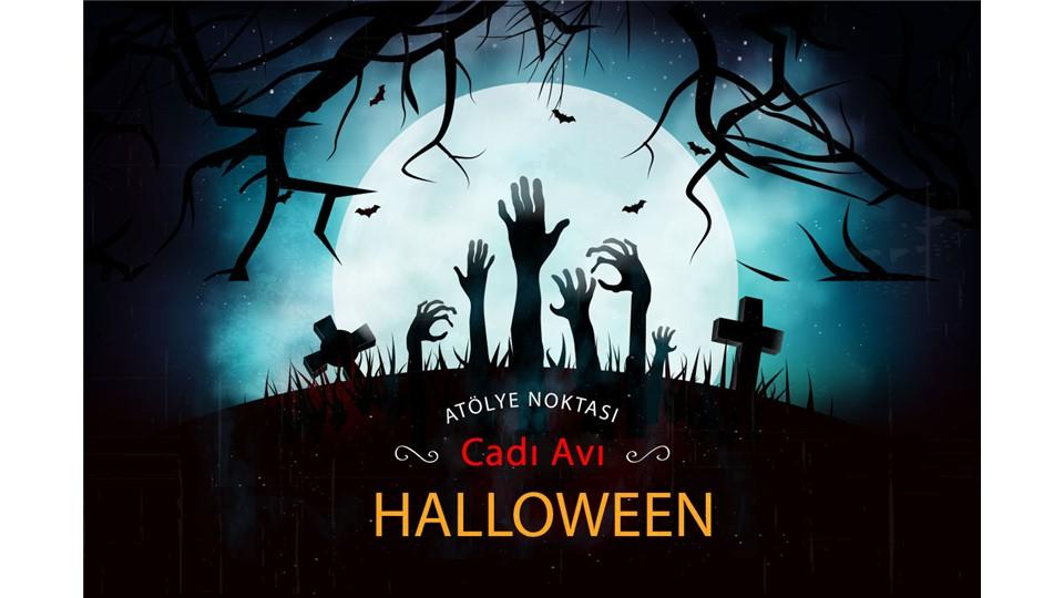 Halloween Partisi - Cadı Avı Oyunu