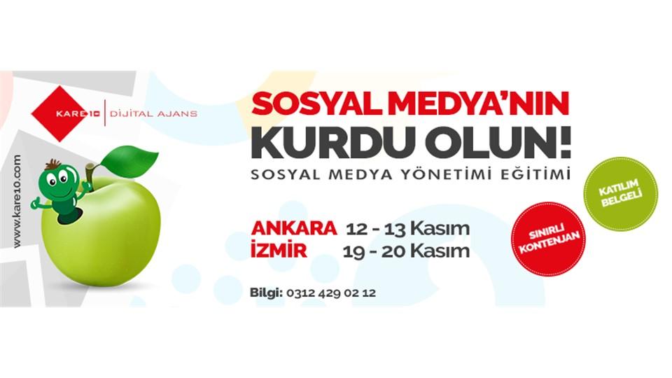 Sosyal Medya Eğitimi - İzmir