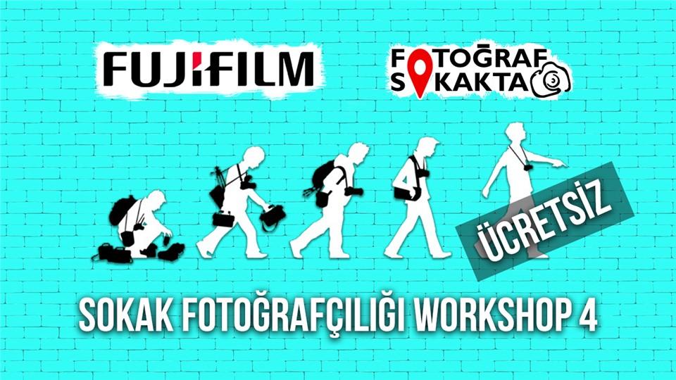 Ücretsiz Sokak Fotoğrafçılığı Workshop 4 - Fotoğraf Sokakta
