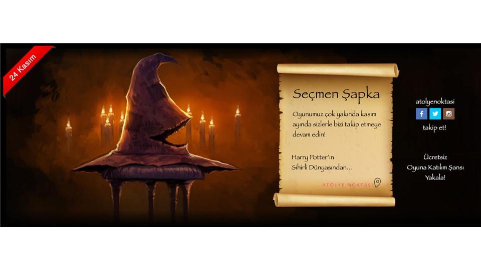 Seçmen Şapka Oyunu - Harry Potter'ın Sihirli Dünyasından