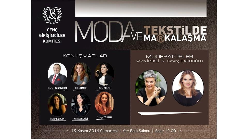 Global Girişimcilik Haftası Paneli - Moda ve Tekstilde Markalaşma