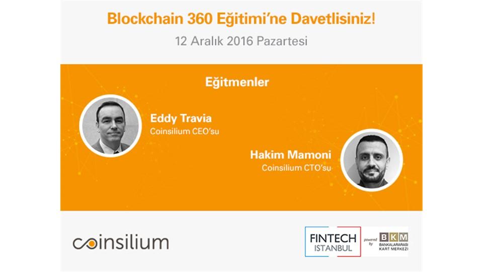 FinTech Istanbul - Blockchain 360 Eğitimi