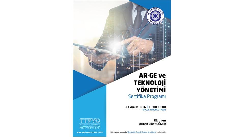 Ar-Ge ve Teknoloji Yönetimi