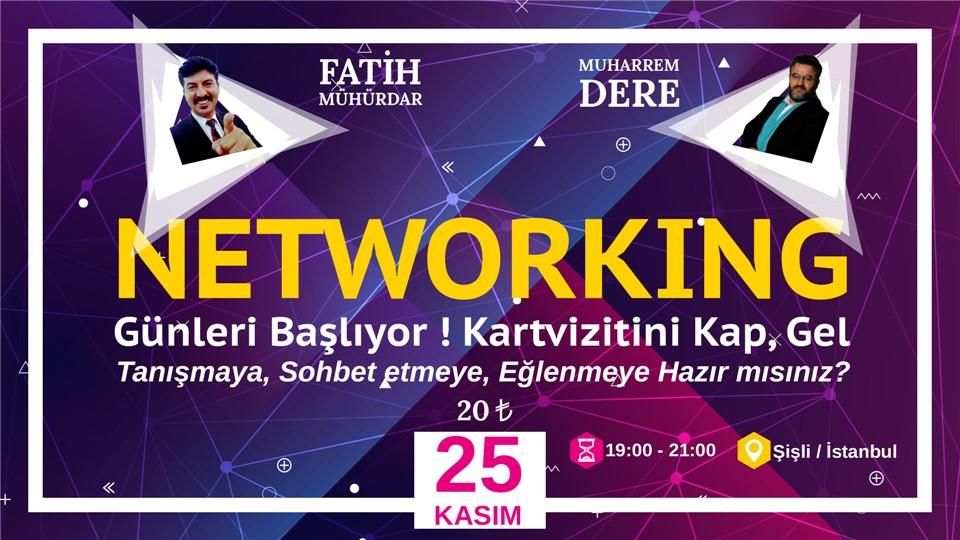 Networking Günleri Başlıyor