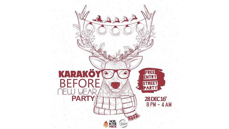 Karaköy Before New Year Party
