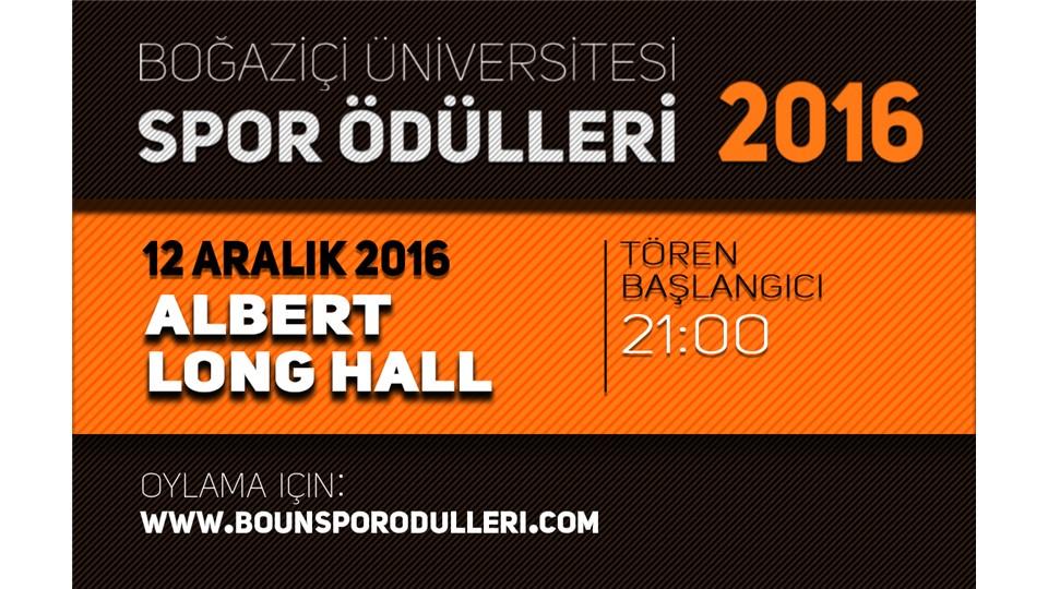 Boğaziçi Üniversitesi Spor Ödülleri 2016