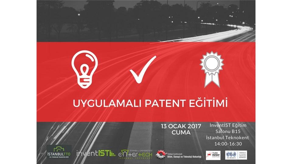 Uygulamalı Patent Eğitimi
