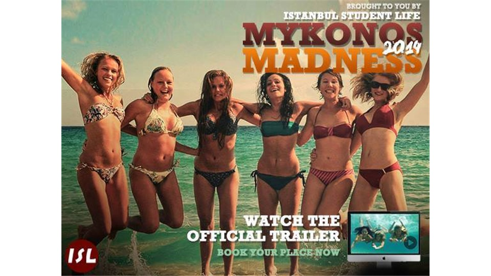 Mykonos Madness 2014 by ISL