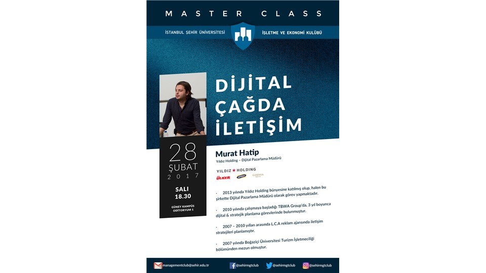 Master Class - Dijital Çağda İletişim