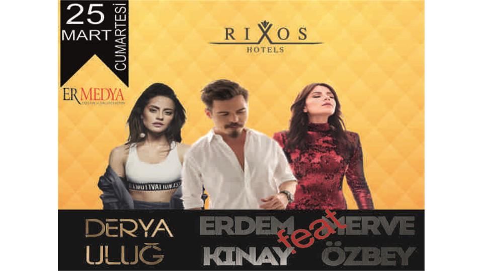 Derya Uluğ & Merve Özbey & Erdem Kınay Konya Konseri