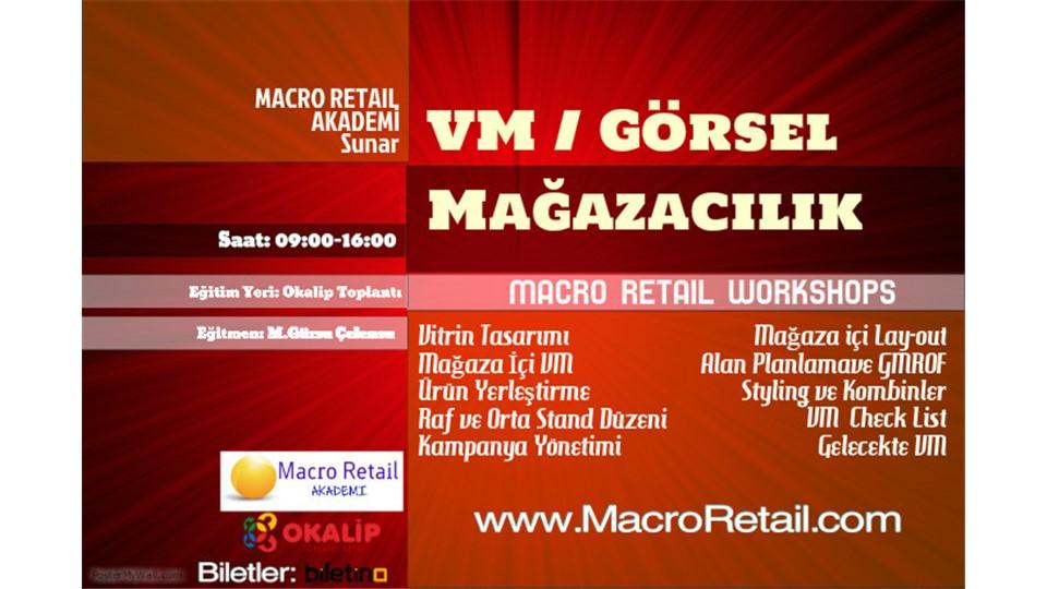 VM/ Perakende Görsel Mağazacılık Eğitimi