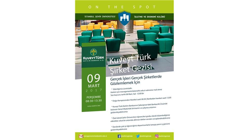 Kuveyt Türk Şirket Gezisi
