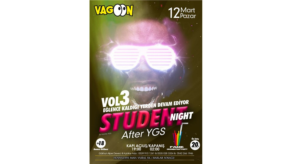 STUDENT NİGHT AFTER YGS