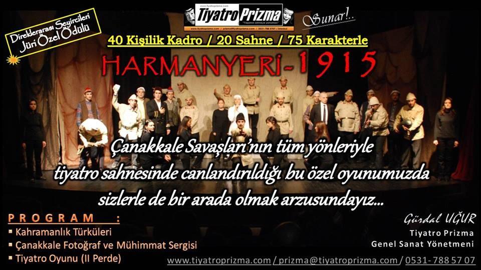 ÇANAKKALE HARMANYERİ 1915