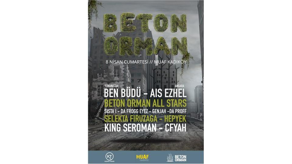 Beton Orman All Stars @ Muaf Kadıköy