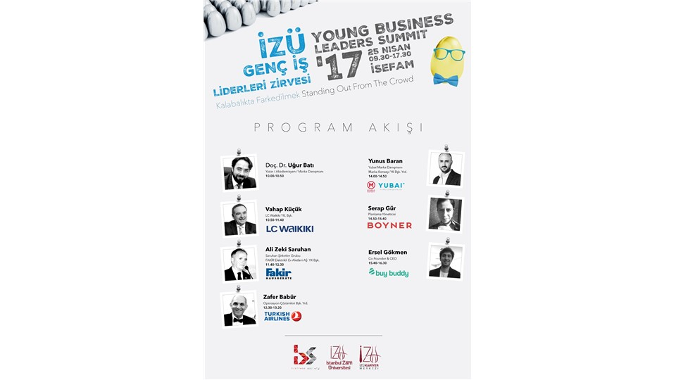 İzü Genç İş Liderleri Zirvesi 17' - İzü Young Business Leaders Summit '17