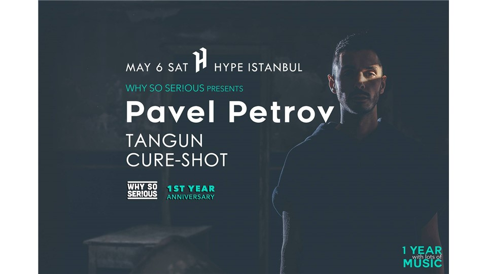 Pavel Petrov @ Hype Istanbul