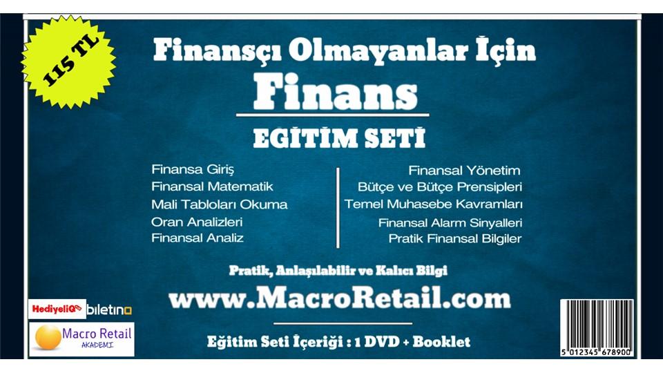 Finansçı Olmayanlar için Finans Eğitim Seti