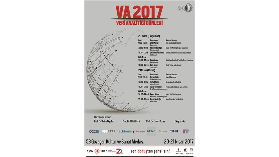 VA 2017 - Doğuş Üniversitesi Veri Analitiği Günleri