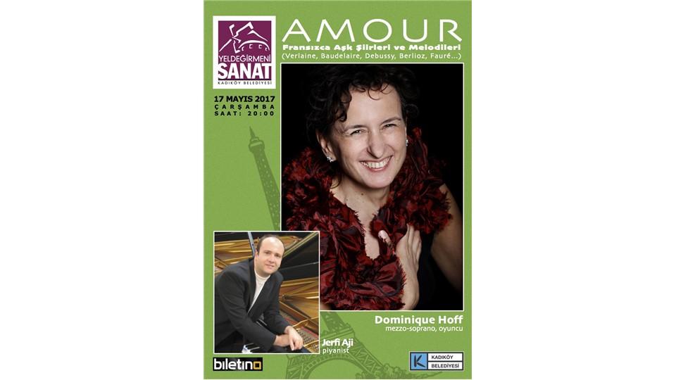 Amour (Fransızca Aşk Şiirleri ve Melodileri) - Dominique Hoff, Jerfi Aji