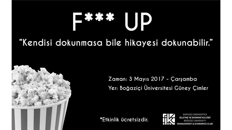 Fuck UP - Boğaziçi Üniversitesi