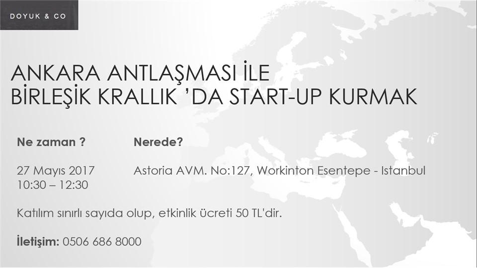 Ankara Antlaşması İle Birleşik Krallık'da Start-Up Kurmak