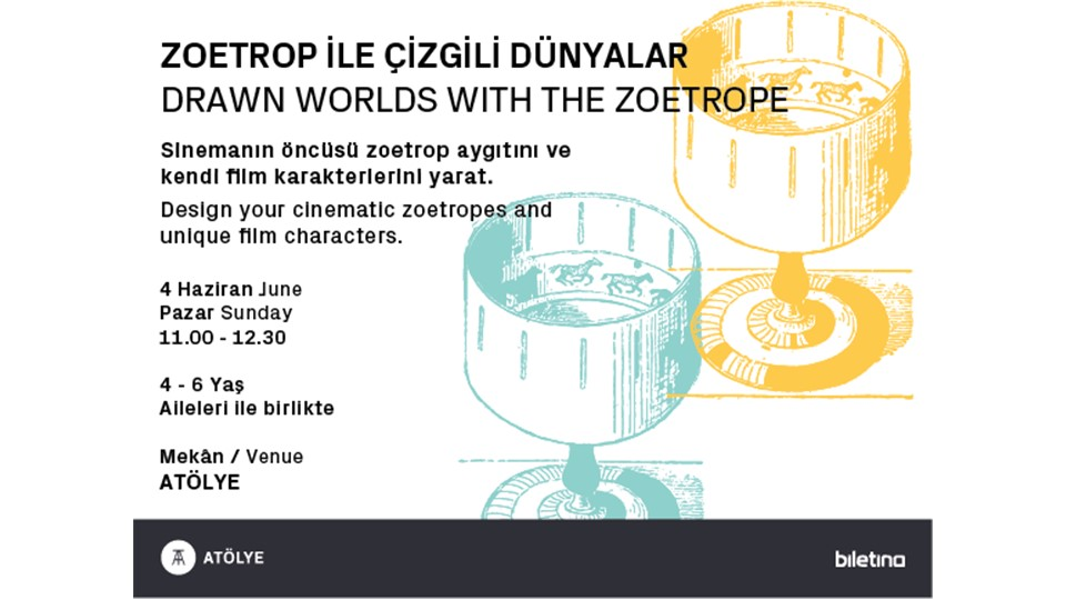 Zoetrop ile Çizgili Dünyalar