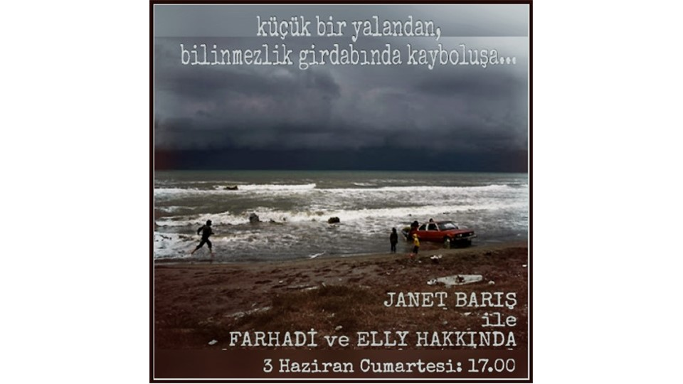 """Janet Barış ile Film Okuma Atölyesi """"Asghar Farhadi Sineması ve About Elly"""""""
