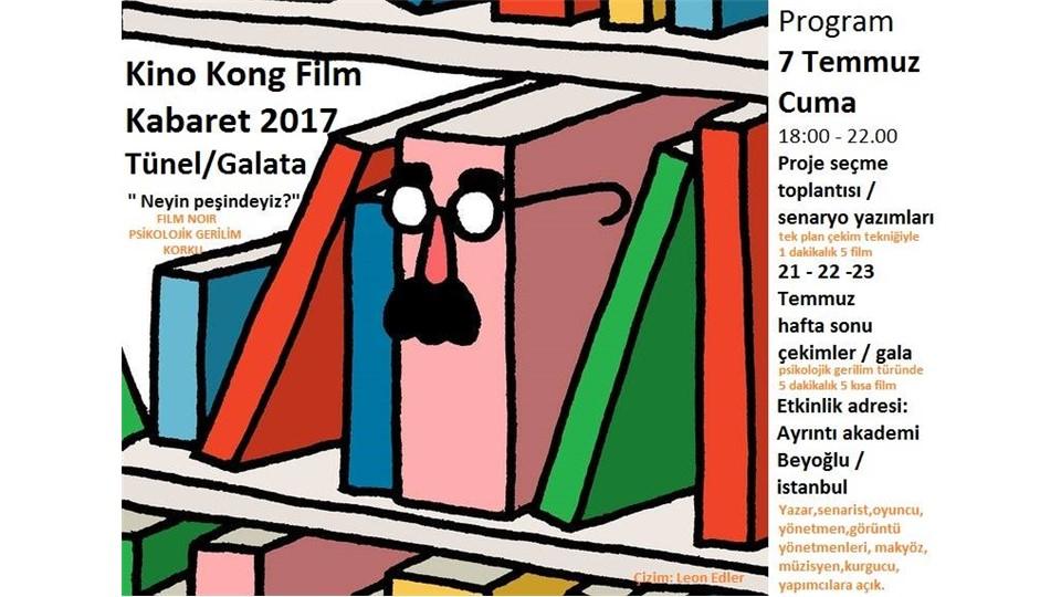 Kino Kong Kısa Film Kabaret 2017