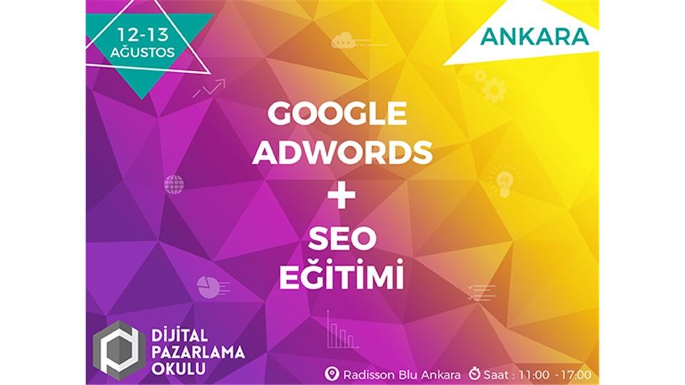 Google AdWords ve SEO Eğitimi [ANKARA]