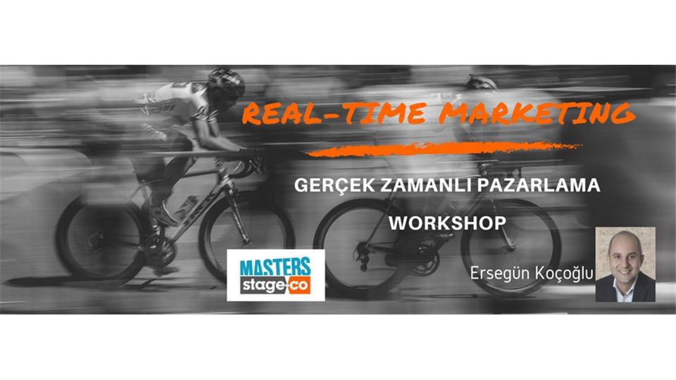 Workshop: Real-Time Marketing