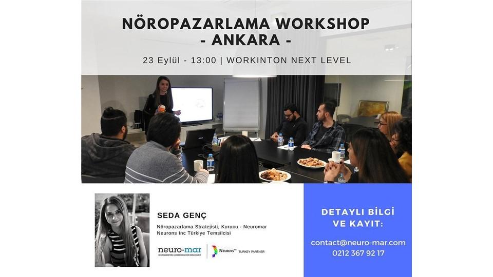 Pazarlama Psikolojisi ve Nöropazarlama Workshop - ANKARA