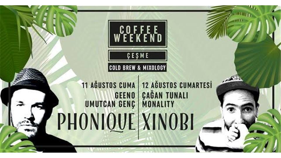 Coffee Weekend Çeşme - Cold Brew & Mixology