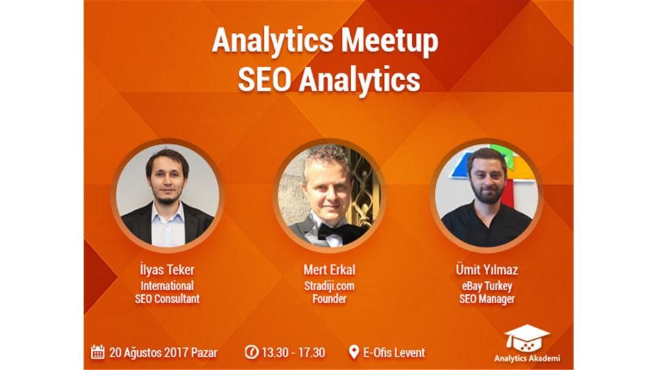 Analytics Meetup | SEO Analytics