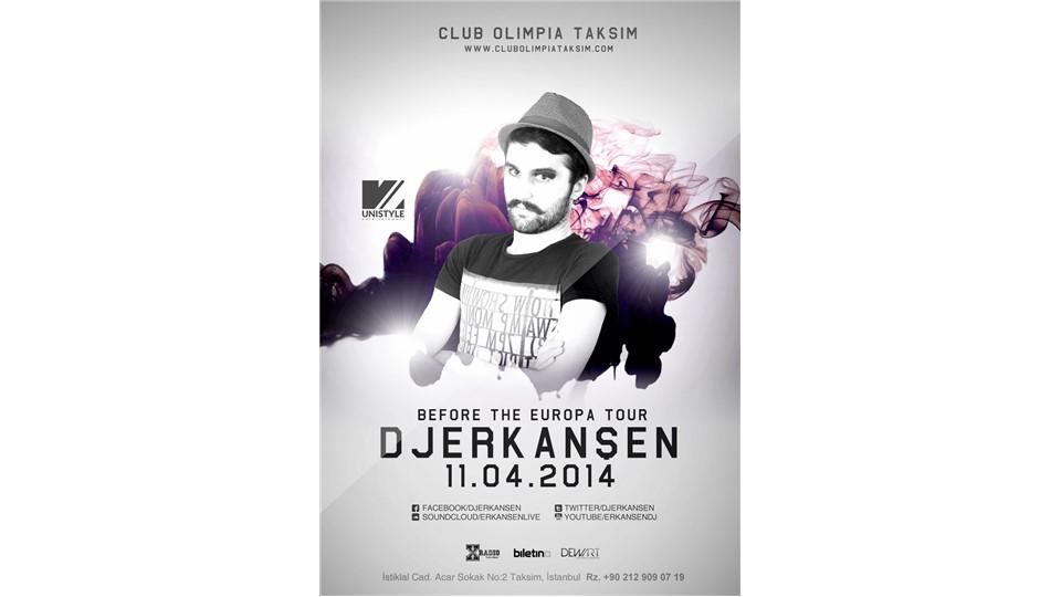 İstanbul'da DJ Erkan Şen zamanı!
