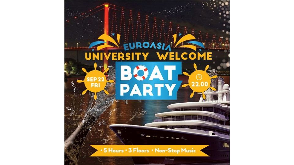 University Welcome Boat Party