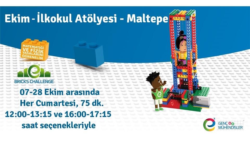 Ekim/ İlkokul (Bricks Challenge) LEGO ® Düzenli Atölye – Maltepe
