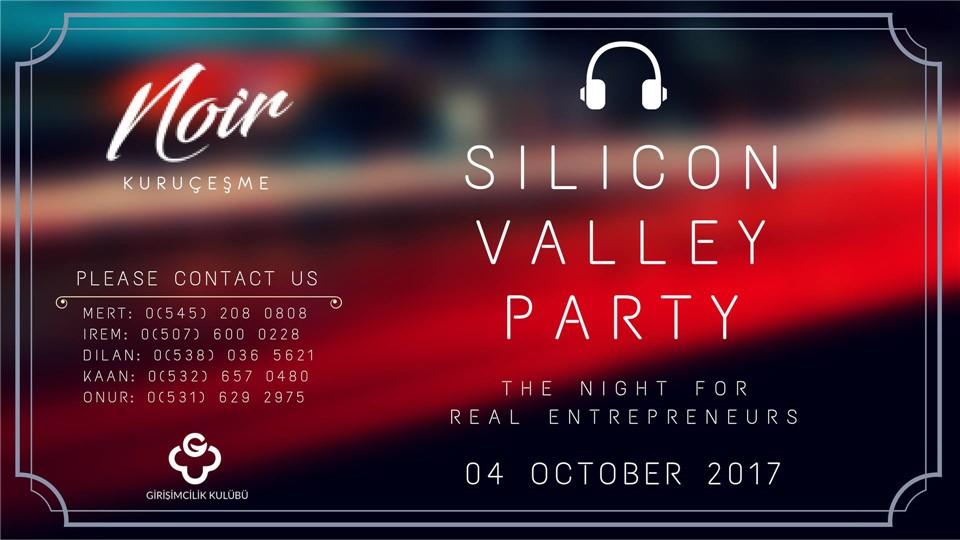 Silicon Valley Party by Entrepreneurship Society